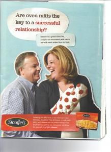 Stouffers advertisement