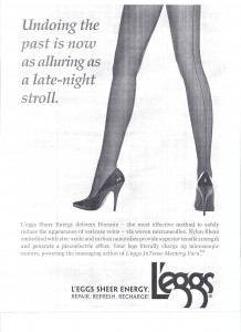 advertisement for l'eggs